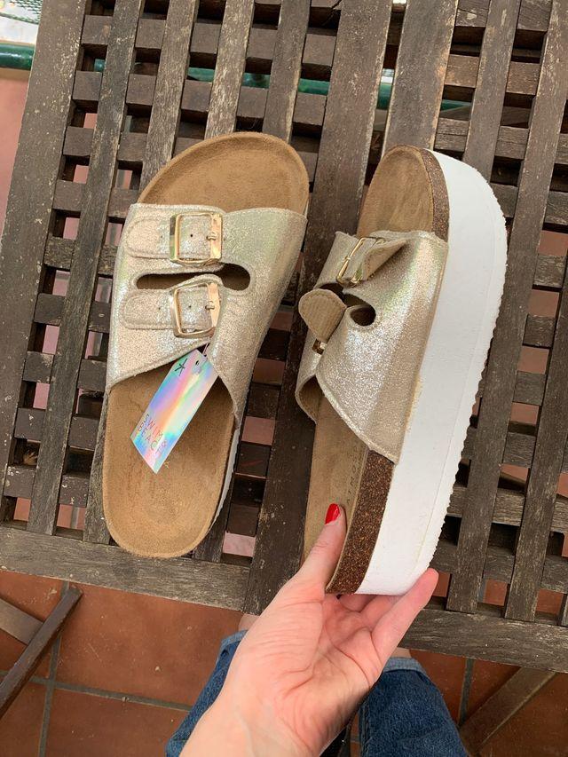 Plataforma 40 sandalias