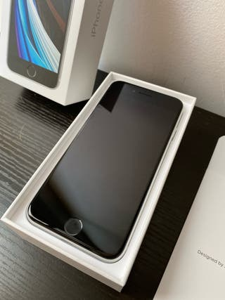 iphone SE 2020 de 256gb white nuevo