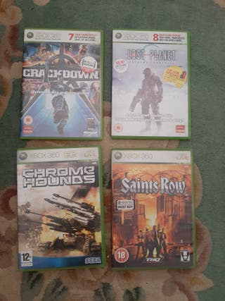juegos variados xbox 360