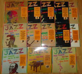 Discos de Vinilo 'Los Grandes del Jazz'