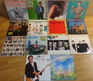 Lote 14 Vinilos Pop Rock Nacional