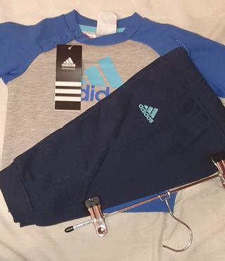 conjunto chandal Adidas 6m+