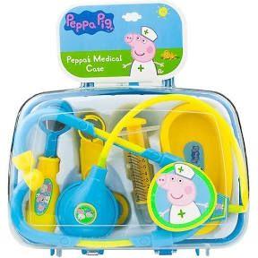 Maletín Peppa Pig enfermera doctora medico niñas