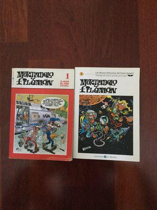 LIBROS MORTADELO Y FILEMÓN.