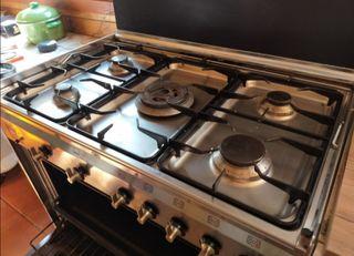 Cocina Smeg Gas Natural