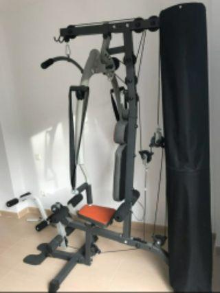 gimnasio, maquina musculación, gym