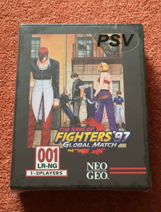 King of fighters 97 Vita Neogeo classic edition