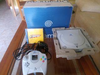 Sega Dreamcast con juego