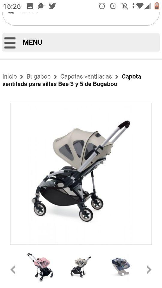 carrito de bebe Bugaboo Bee 5