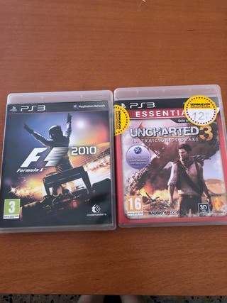 2 juegos play3. Por 10€ los 2!!!!
