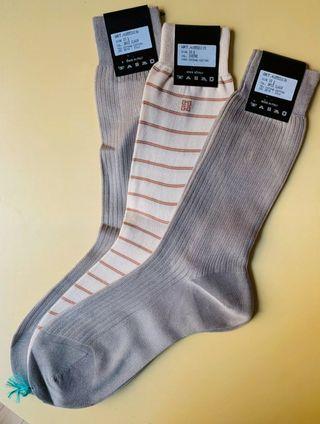 Lote 3 calcetines Givenchy, seda+algodón