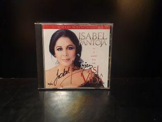 CD firmado Isabel Pantoja