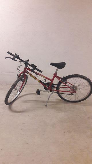 Bicicleta 24 pulgadas - COMO NUEVA