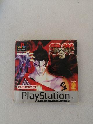 Manual Tekken 3 PS1