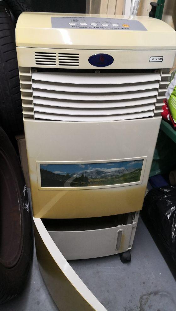 refrigerador y calefactor aire