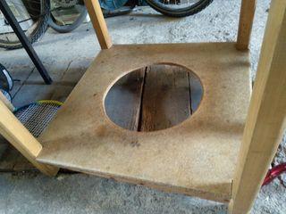 Mesa redonda 90cm