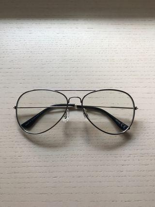 Gafas Vintage sin graduar transparentes