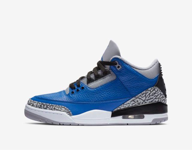 Nike Jordan 3 Blue Cement DS 10UK 11US