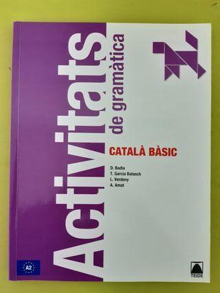 Libro Activitats de gramàtica A2 CATALA BASIC