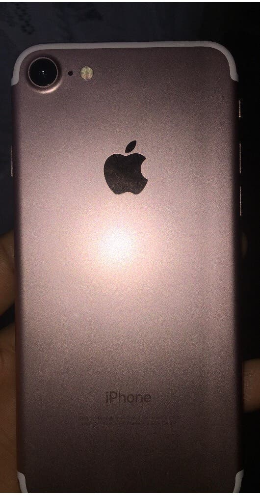 New Iphone 7   Rose Gold   128gb
