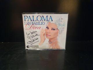 CD firmado Paloma San Basilio