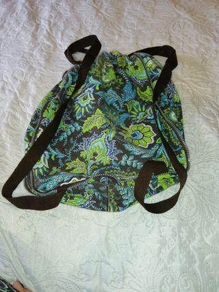 Bolso mochila estampado