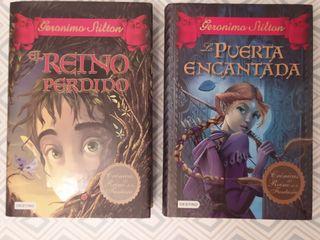 Libros 1 y 2 Crónicas del Reino de la Fantasía