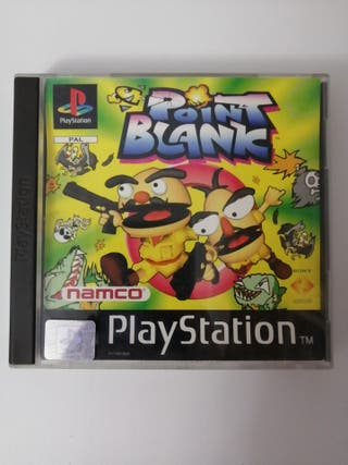 Point Blank Playstation 1