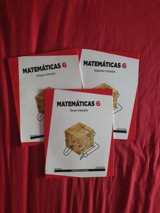 Matemáticas 6° ANAYA