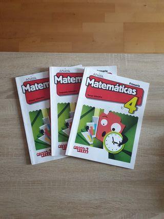 Matemáticas 4° ANAYA
