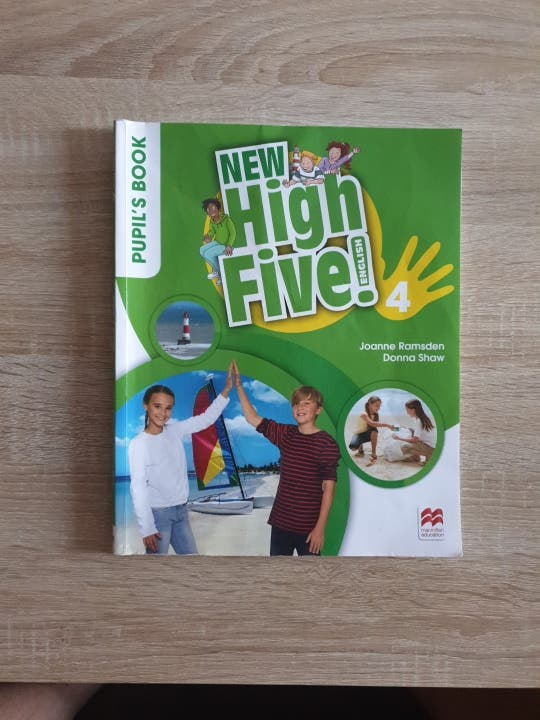 New High Five 4. Pupils book.