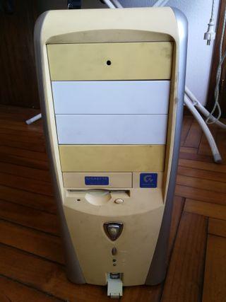 PC Windows XP, Pentium 4, 1 GB RAM, 120 GB HDD
