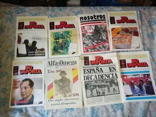 periódicos y revistas de Falange