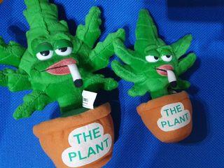 peluche planta marihuana