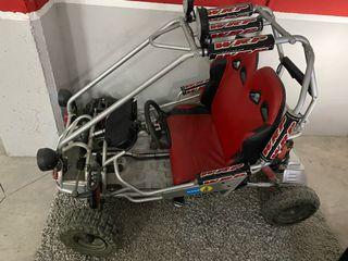 Buggy Infantil motor Gasolina 2 plazas