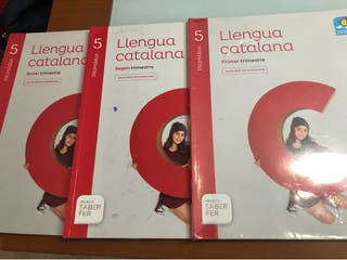 Libros llengua Catalana 5 primaria