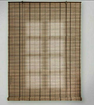 Persiana Enrollable Bambú Kenya Marrón