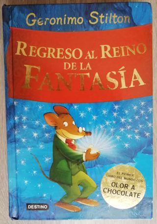 Libro literatura infantil Gerónimo Stilton