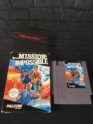 Juego NES Mission Impossible