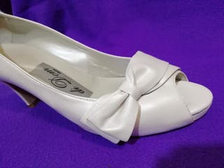 Zapatos de novia seminuevos