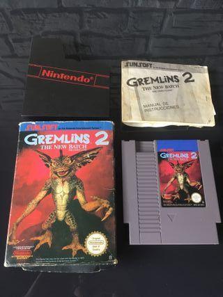 Juego NES Gremlins 2