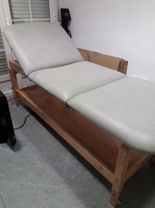 camilla de masaje ecopostural