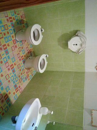 WC y lavabos infantiles