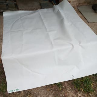 Lona PVC blanca, nueva, varias medidas