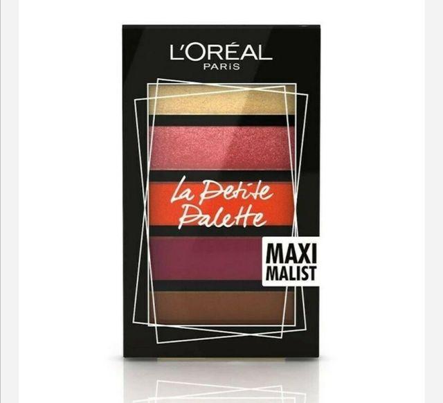 L'Oréal La pettie maxi Malist palette