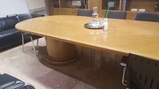gran mesa de reunión para oficina