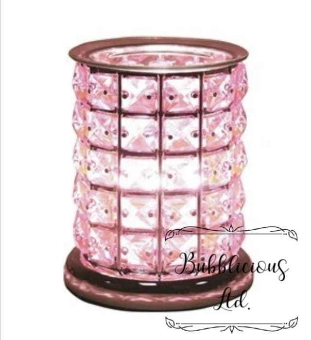 Pink touch electric burner