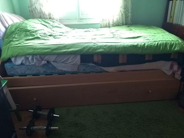 cama nido single