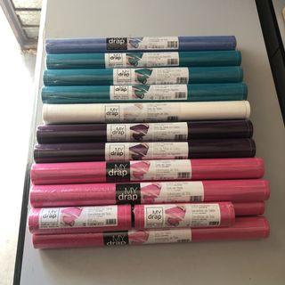 Urge vender: Lote MyDrap manteles algodón en rollo