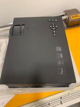 Proyector LED LCD UC40 UC46 actualización casa tea